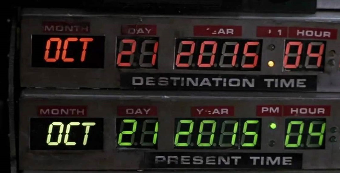 Back to the Future Day Is Upon Us