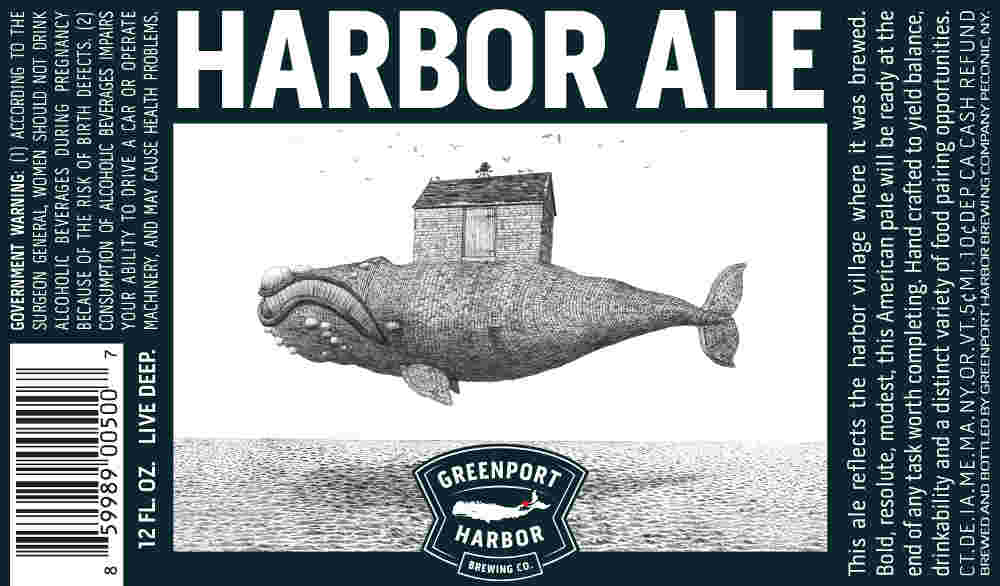 Beer Label Breakdown with Greenport Harbor Brewing's Artist Scott Bluedorn, Part 1: Harbor Ale