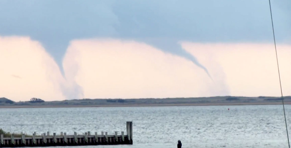 Waterspouts Spotted in Atlantic Ocean From Hamptons To Montauk