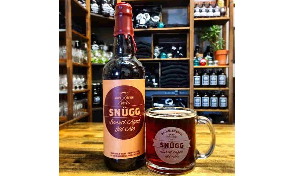 5 Things To Know About Moustache Brewing's First Bottled Beer, Snügg