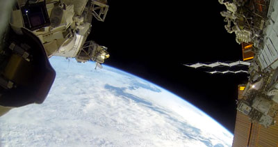 Incredible GoPro Footage from the International Space Station