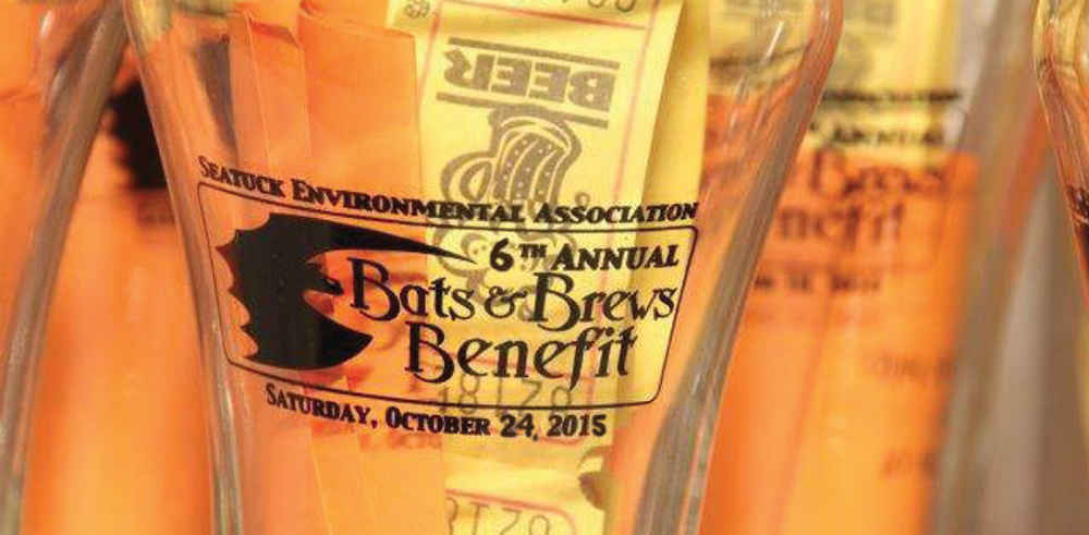 Bats & Brews to Benefit Seatuck