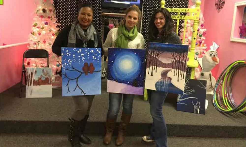 5 Suffolk Spots That Host Sip and Paint Nights