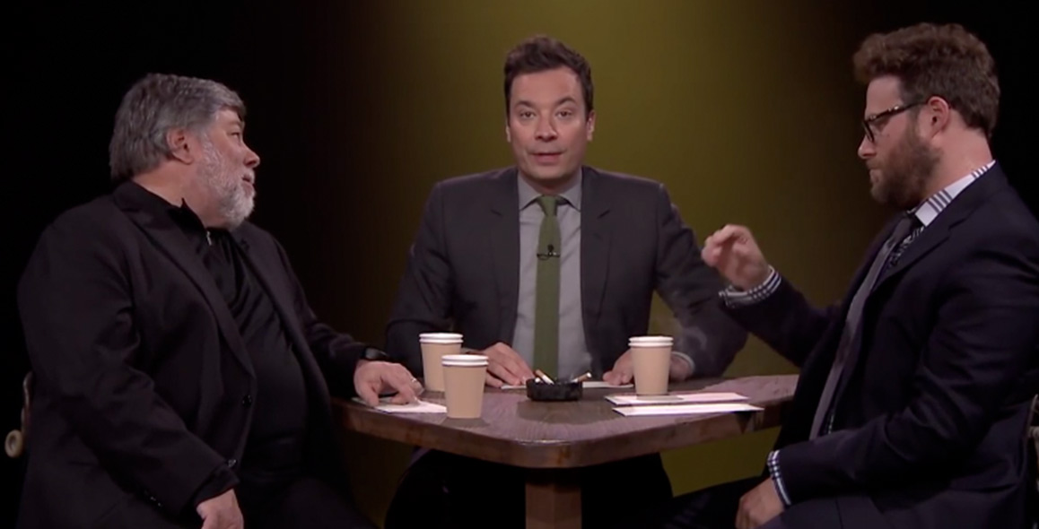 Seth Rogen and Steve Wozniak Play True Confessions With Jimmy Fallon