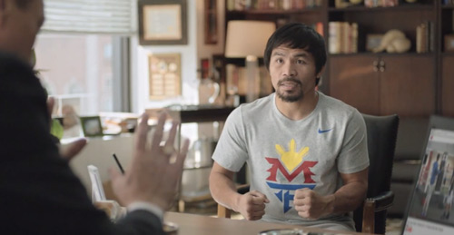Foot Locker and Manny Pacquiao Promote Mega Fight With Hilarious New Commercial