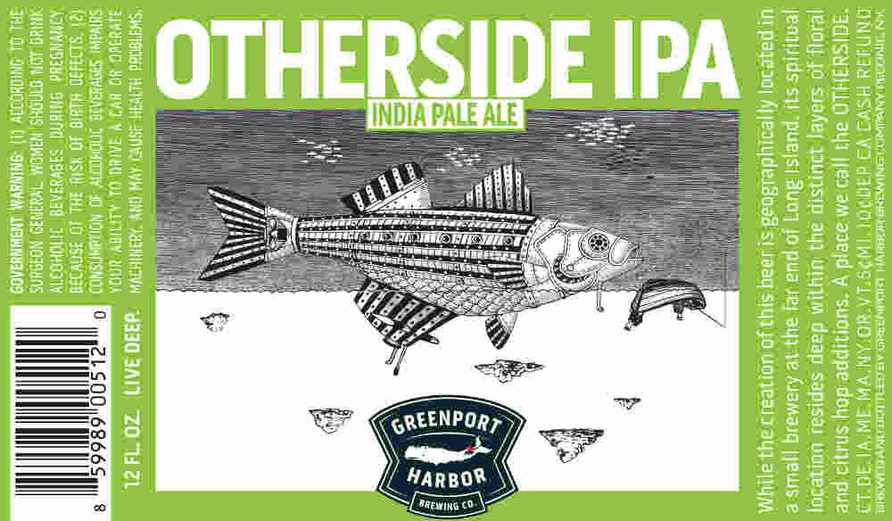 Beer Label Breakdown with Greenport Harbor Brewing's Artist Scott Bluedorn, Part 2: Otherside IPA