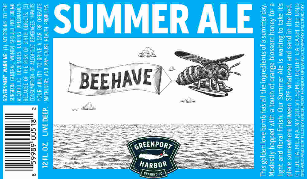 Beer Label Breakdown with Greenport Harbor Brewing's Artist Scott Bluedorn, Part 4: Summer Ale