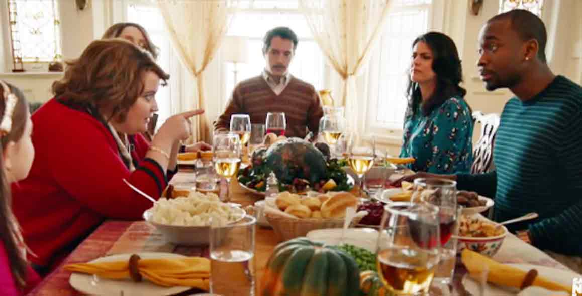Adele Keeps The Family Together At Thanksgiving