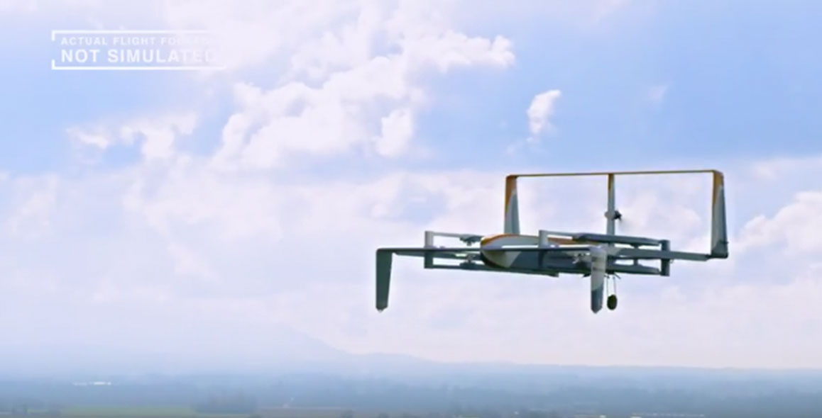 The Not So Distant Future Of Amazon Prime Drones