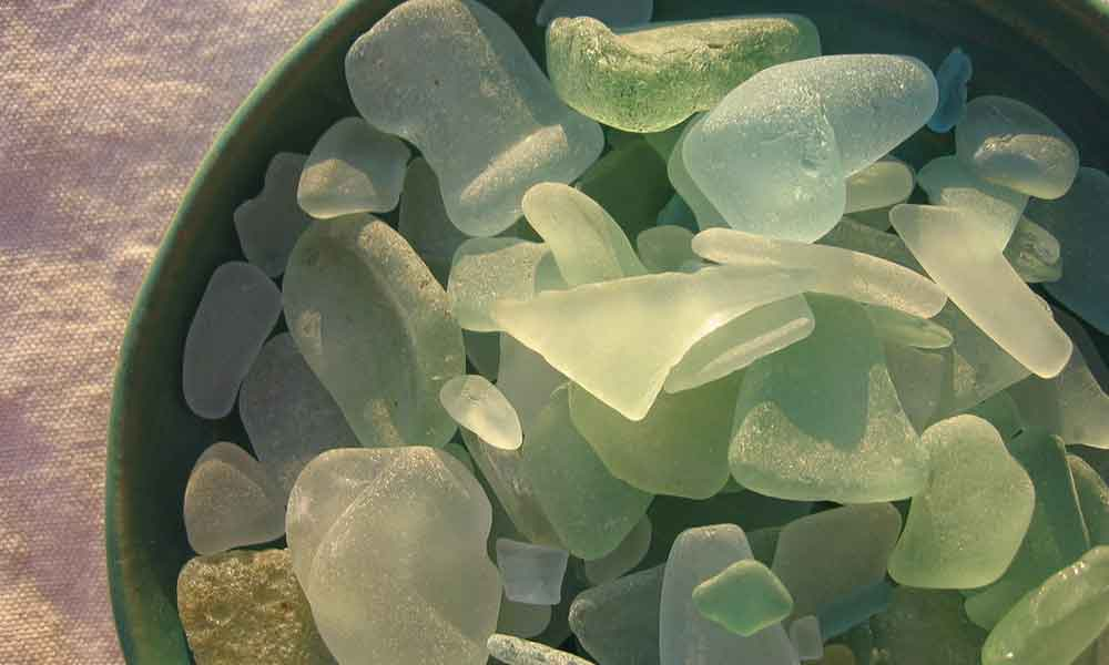10 Secret Beach Glass Spots on the East End