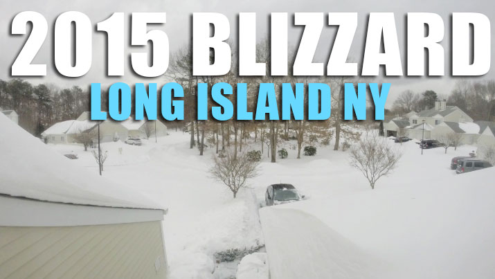 Really Cool Time-lapse of the 2015 Blizzard in Eastern Long Island NY