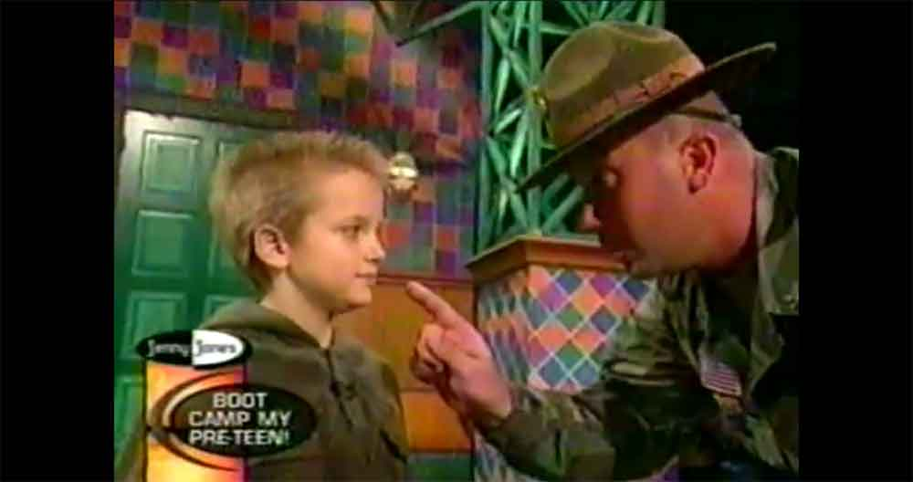 10 Year Old Brings Drill Instructor to Tears