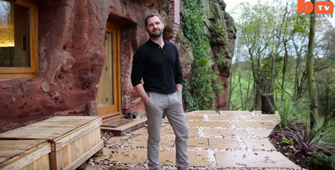 Modern Day Caveman Builds A $230,000 House In A Cave