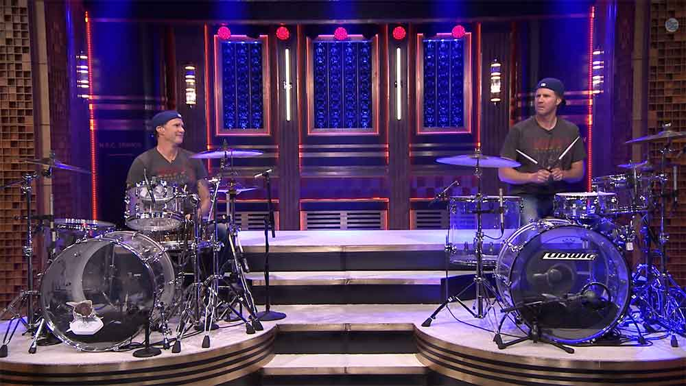 Epic Drum Off Between Chad Smith and Will Ferrell