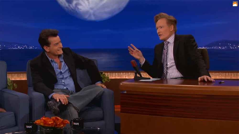 Charlie Sheen Tells Conan How His Meltdown Began