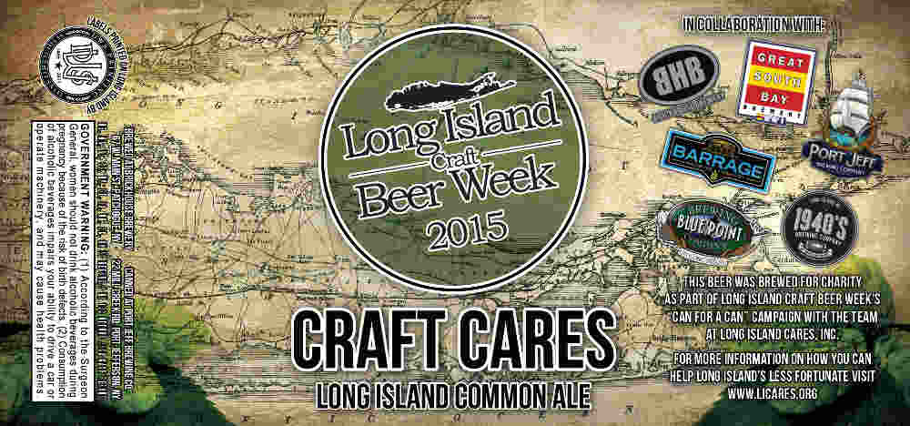 10 Things To Know About Craft Cares, Long Island Craft Beer Week's First Official Beer