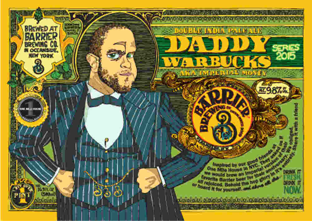Beer Label Breakdown with Barrier Brewing and Daniel F. Birch: Daddy Warbucks