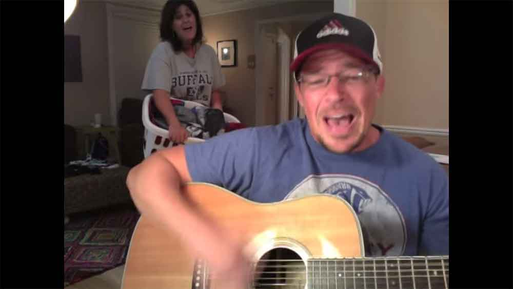 "Dad's Musical Response to ""Rude"" is Hilarious"