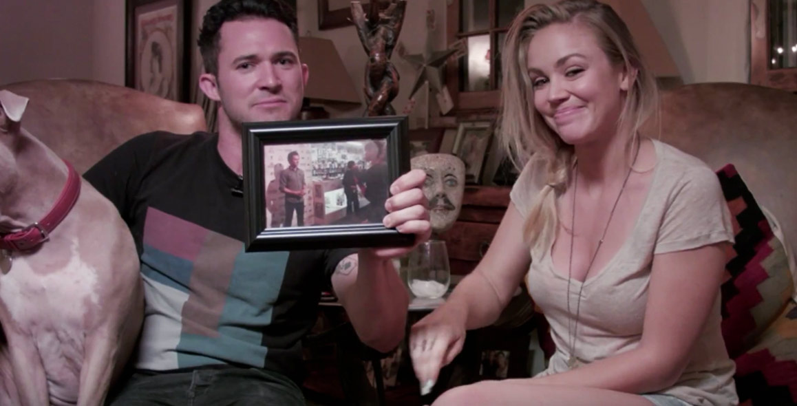 Couple Creates Their Own Drunk History Love Story