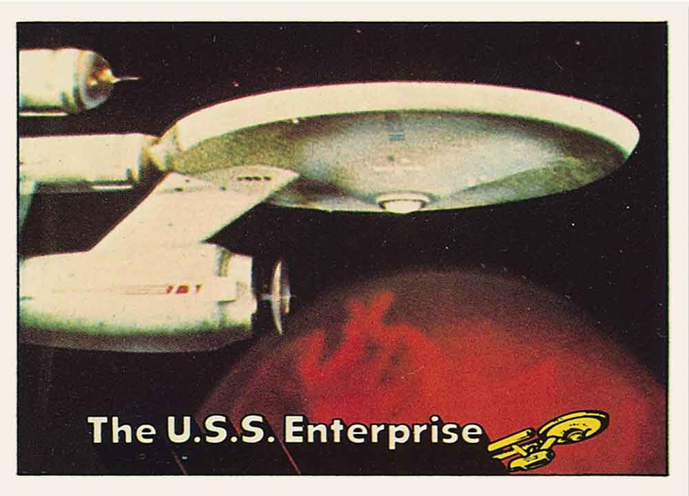Star Trek the Original Topps Trading Cards Series