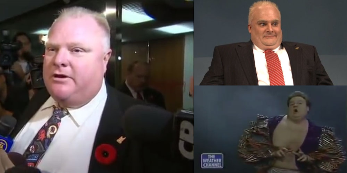 Rob Ford vs. Chris Farley ... A Must See Video Mash Up