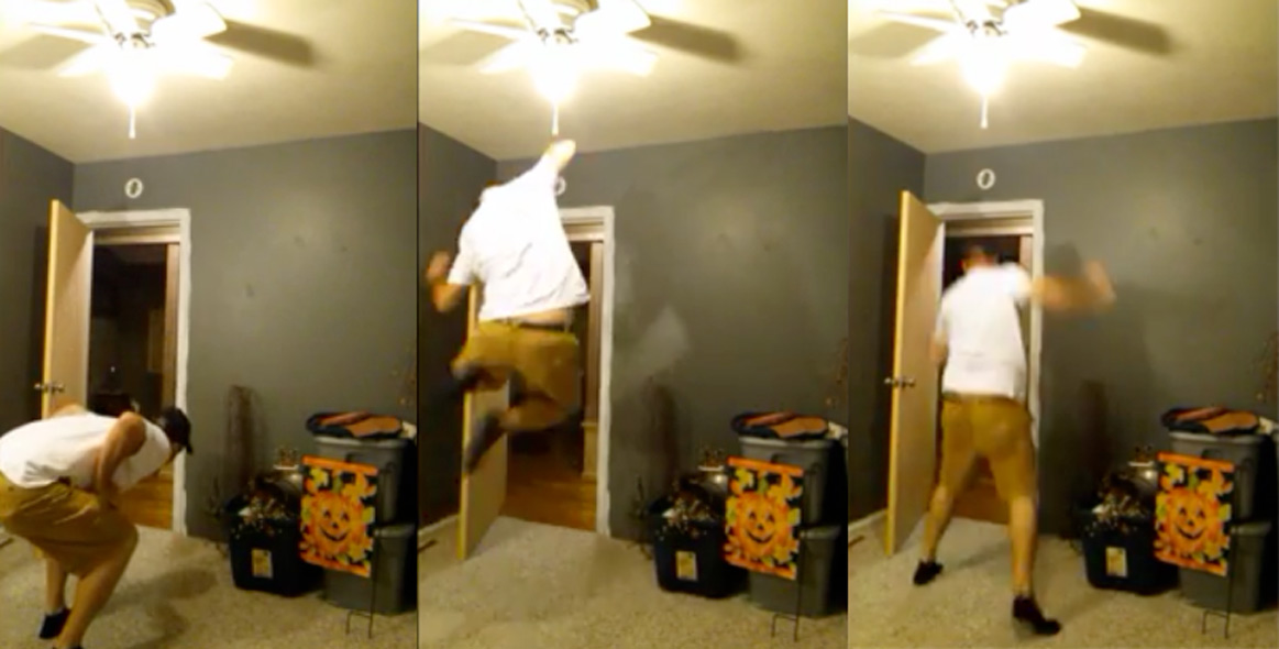 This Father's Reaction To Finding Out He Is Going To Be A Grandpa Is Priceless!