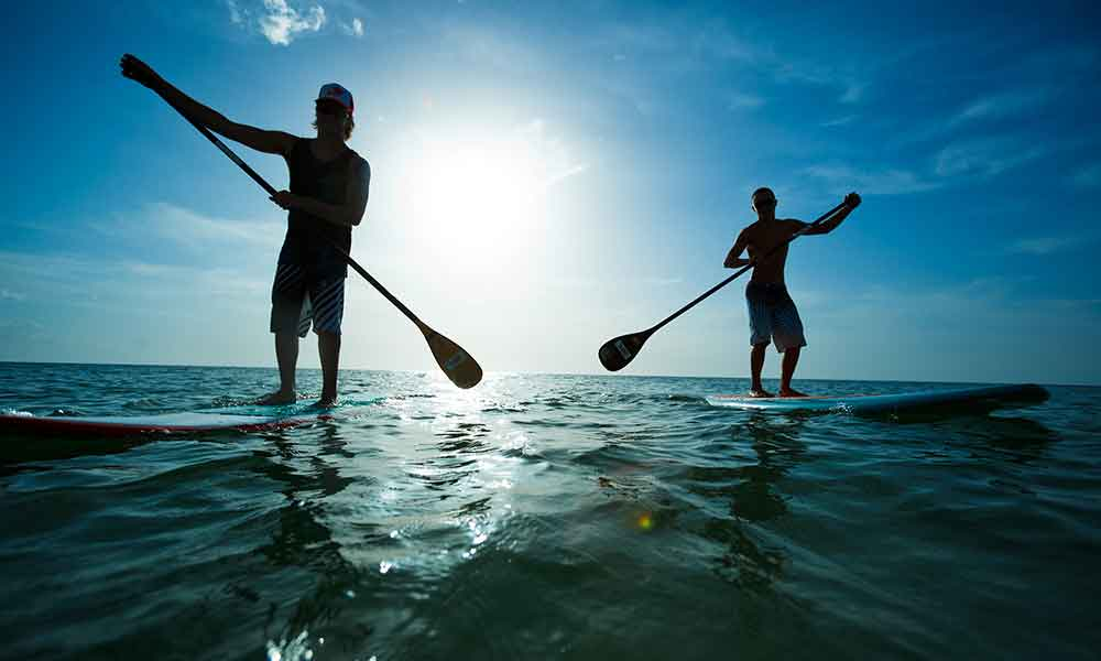 4 Places to Rent a Paddleboard in the Hamptons