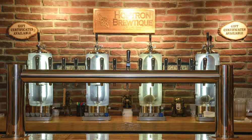 Get Out and Hunker Down: Hoptron Brewtique