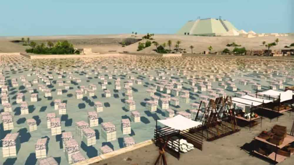 How the Pyramids Were Really Built ... A Working Theory