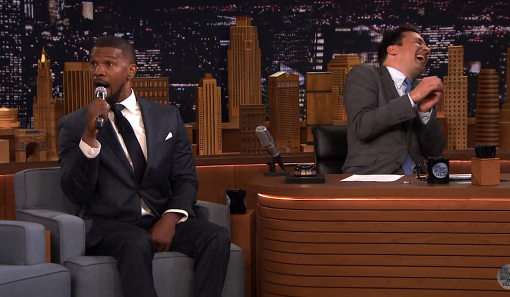 Jamie Foxx Does Hilarious Musical Impressions With Jimmy Fallon