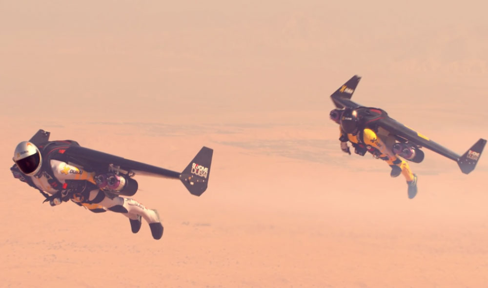 These Two Jetmen and Tear up Dubai Skies