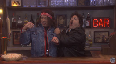 Watch Kevin James and Jimmy Fallon Star in Last Call Saloon