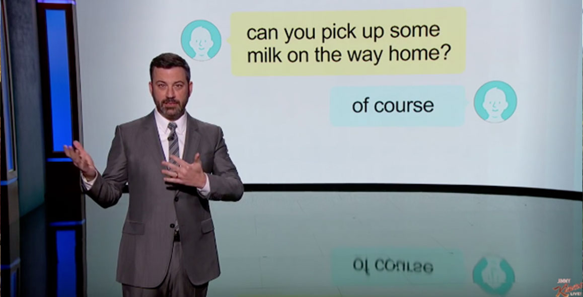 Jimmy Kimmel's Guide To Understanding Passive Aggressive Texts