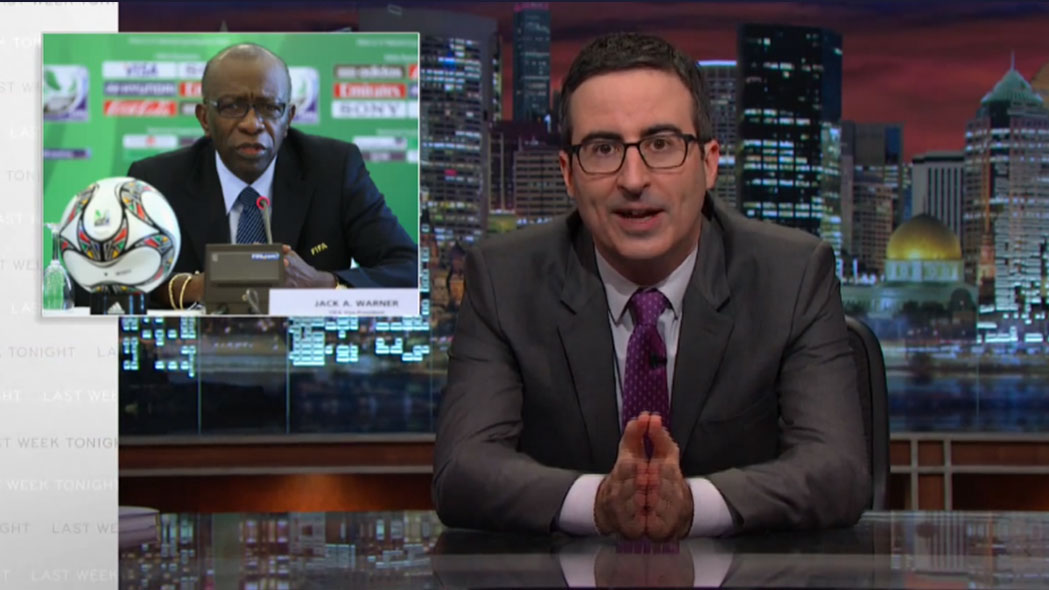 John Oliver Tears Into the FIFA Scandal
