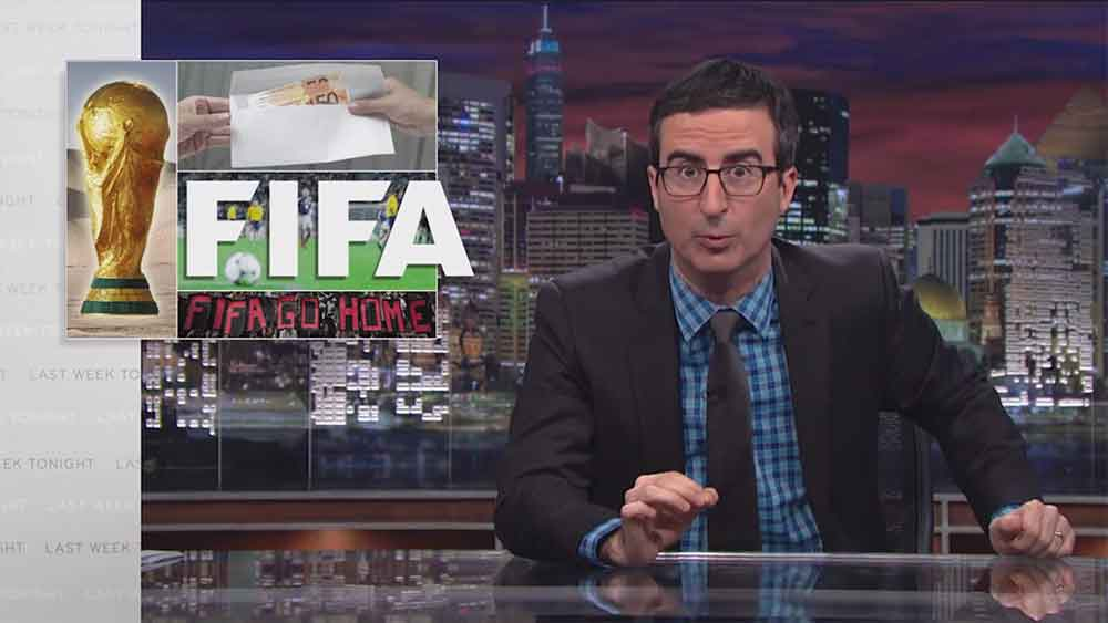 John Oliver's Amazing Rant About FIFA and His Resistance to the World Cup