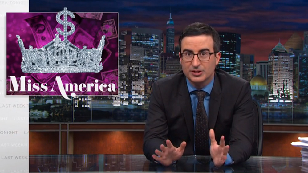 John Oliver Slams Miss America Pageant and Their Scholarship Practices