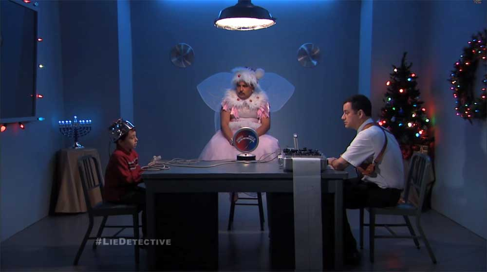 Jimmy Kimmel Helps Santa Put Kids on the Naughty or Nice Lists