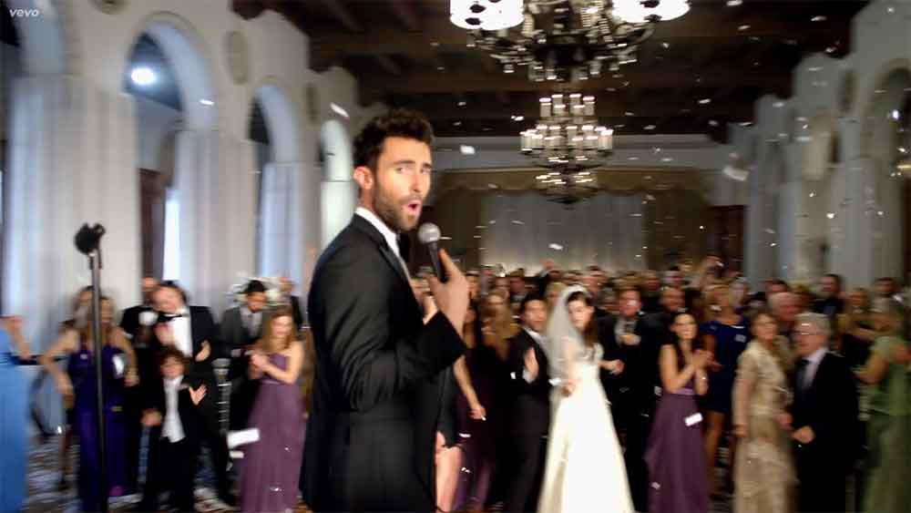 Maroon 5 Crashed Real Weddings To Make The Video For Their