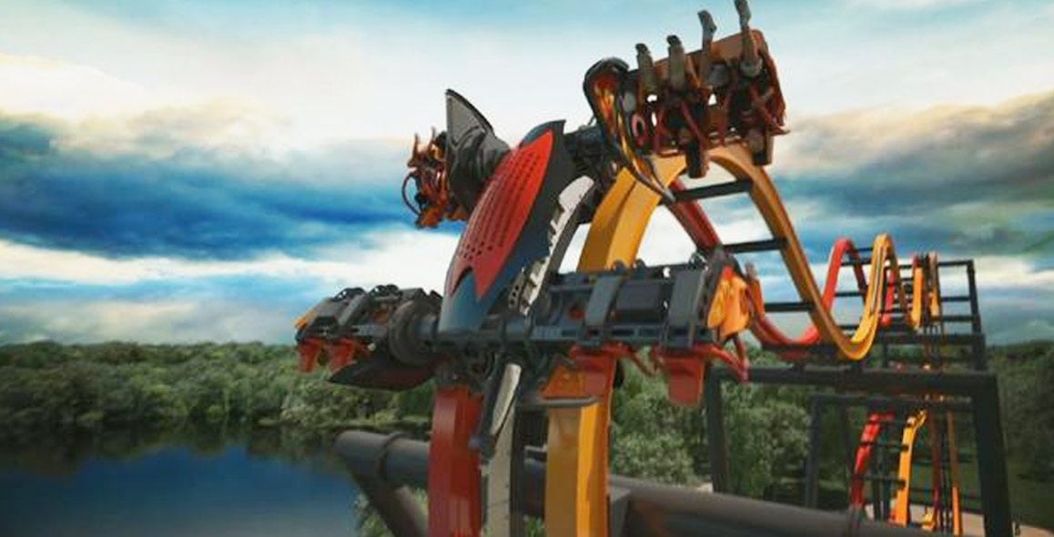 Take A Virtual Ride On Six Flags Terrifying New Roller Coaster