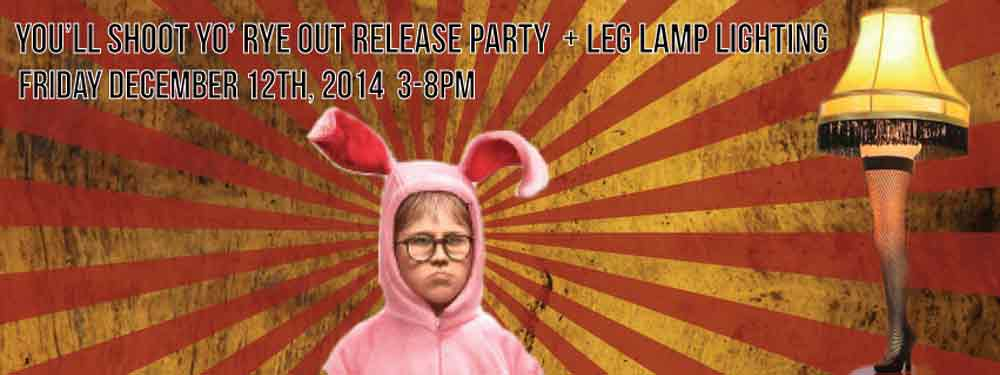 A Craft Beer Release Party With A Christmas Story Twist