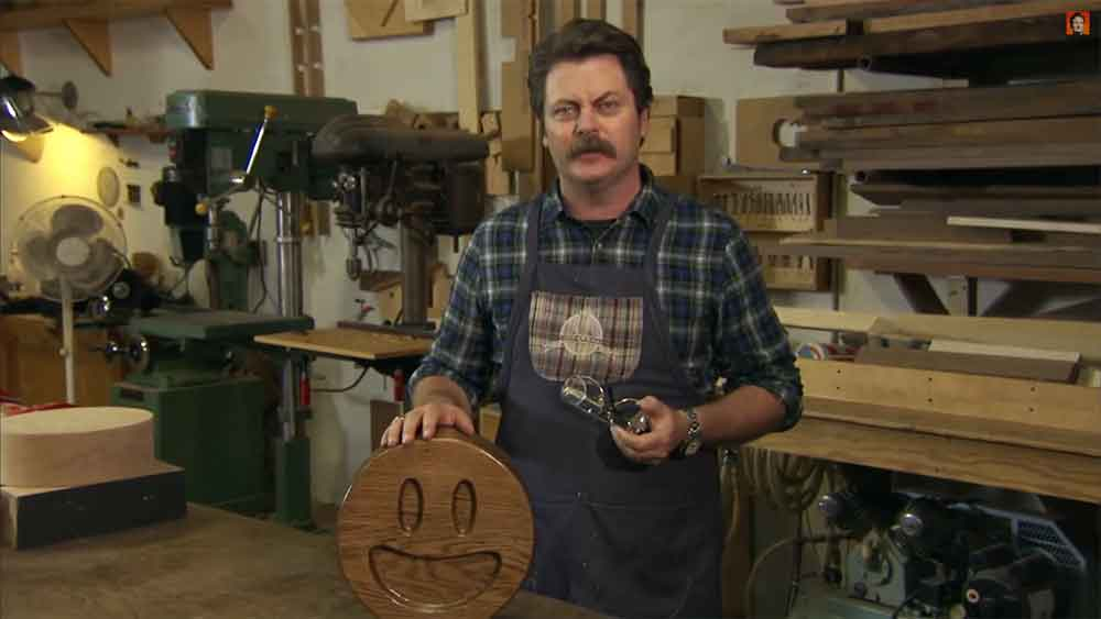 Nick Offerman's Handcrafted Wood Emojis Will Top Your Christmas List