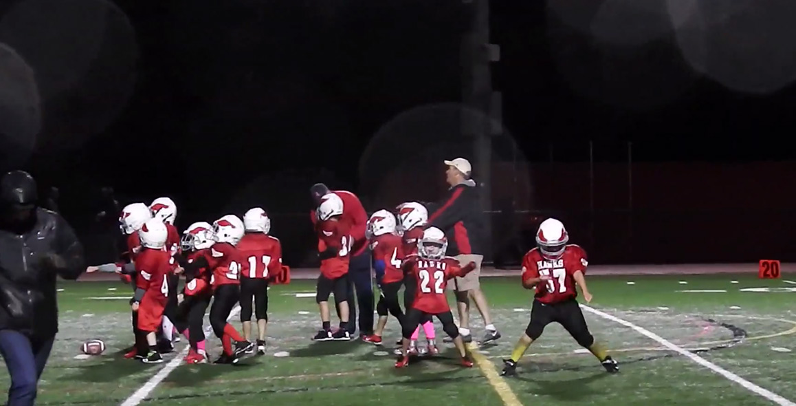Peewee Football Players Would Rather 'Whip' and 'Nae Nae' Than Play Football