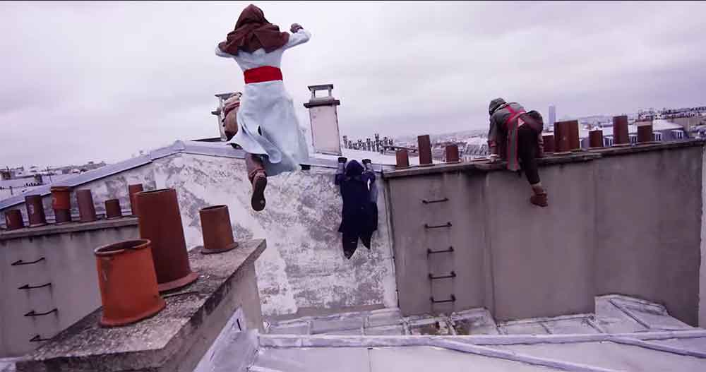 Parkour Brings Assassin's Creed Unity to Life