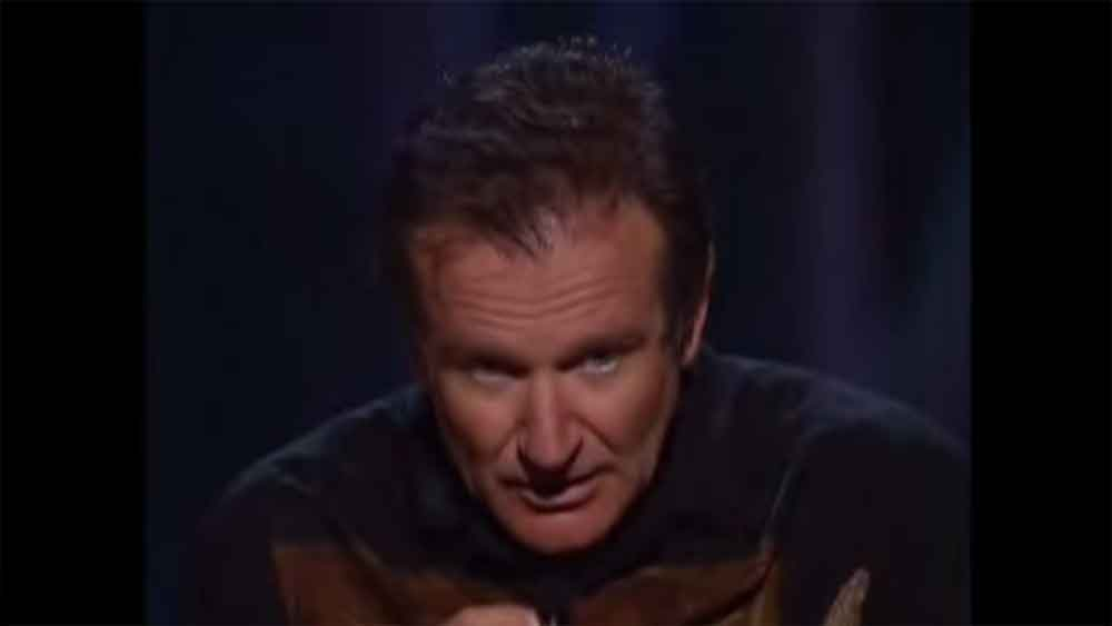Robin Williams Discusses the Origins of Golf