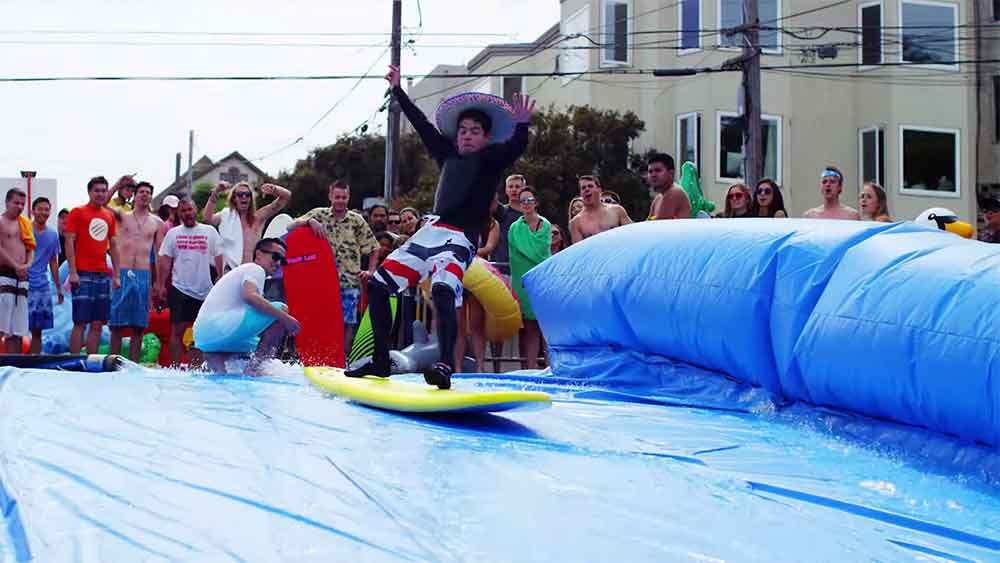 Urban Surfing on the Streets of San Francisco