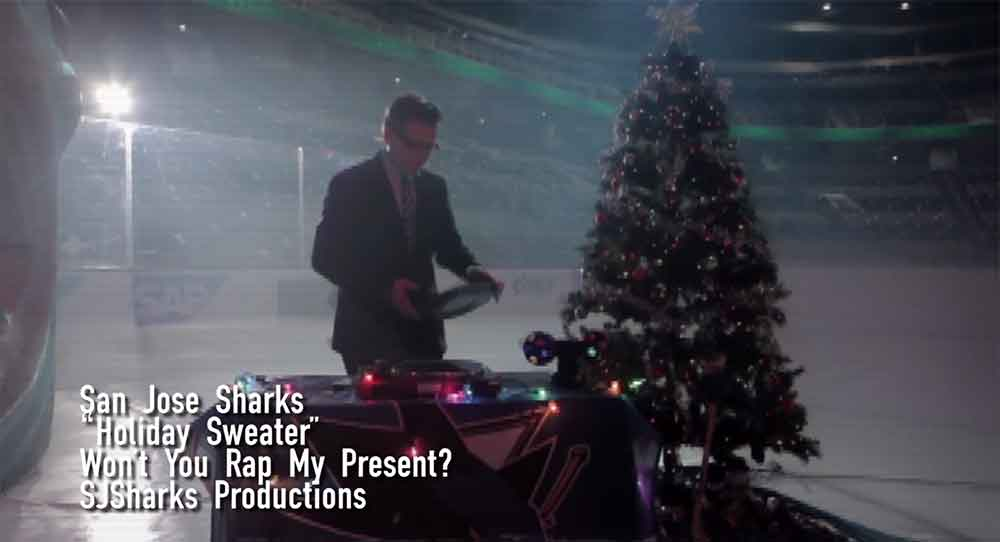 The San Jose Sharks Release Awesome Holiday Rap Video
