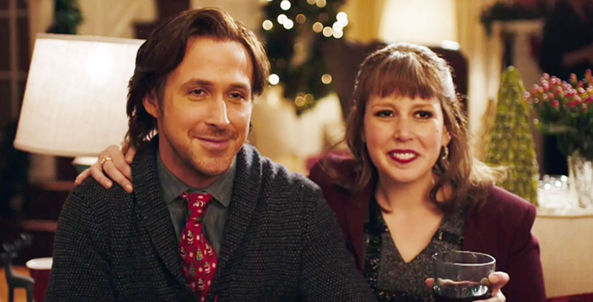 Ryan Gosling and Vanessa Bayer Had Better See Santa Tonight
