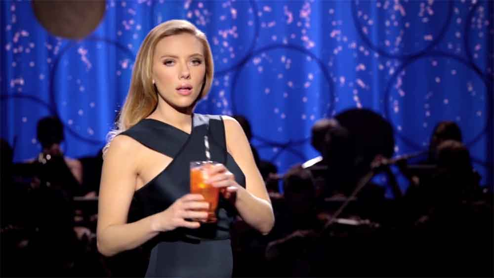 This Scarlett Johansson SodaStream Ad Was Banned from the Super Bowl