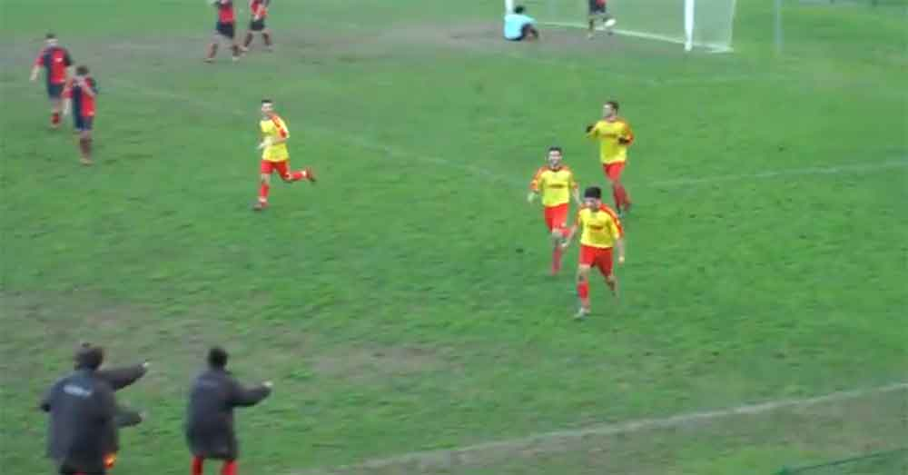 This Is the Most Ridiculous Goal Celebration in History and It's Hysterical