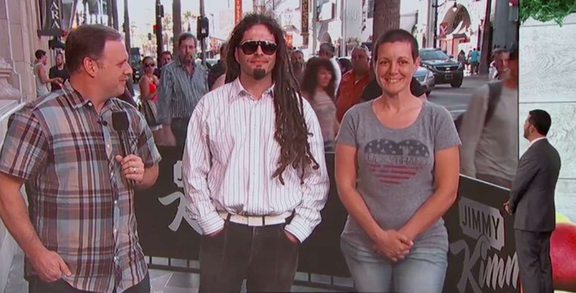 Jimmy Kimmel Plays Spot The Vegetarian On The Streets